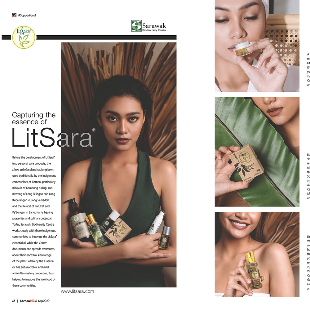Capturing the Essence of LitSara® - Borneo Talk