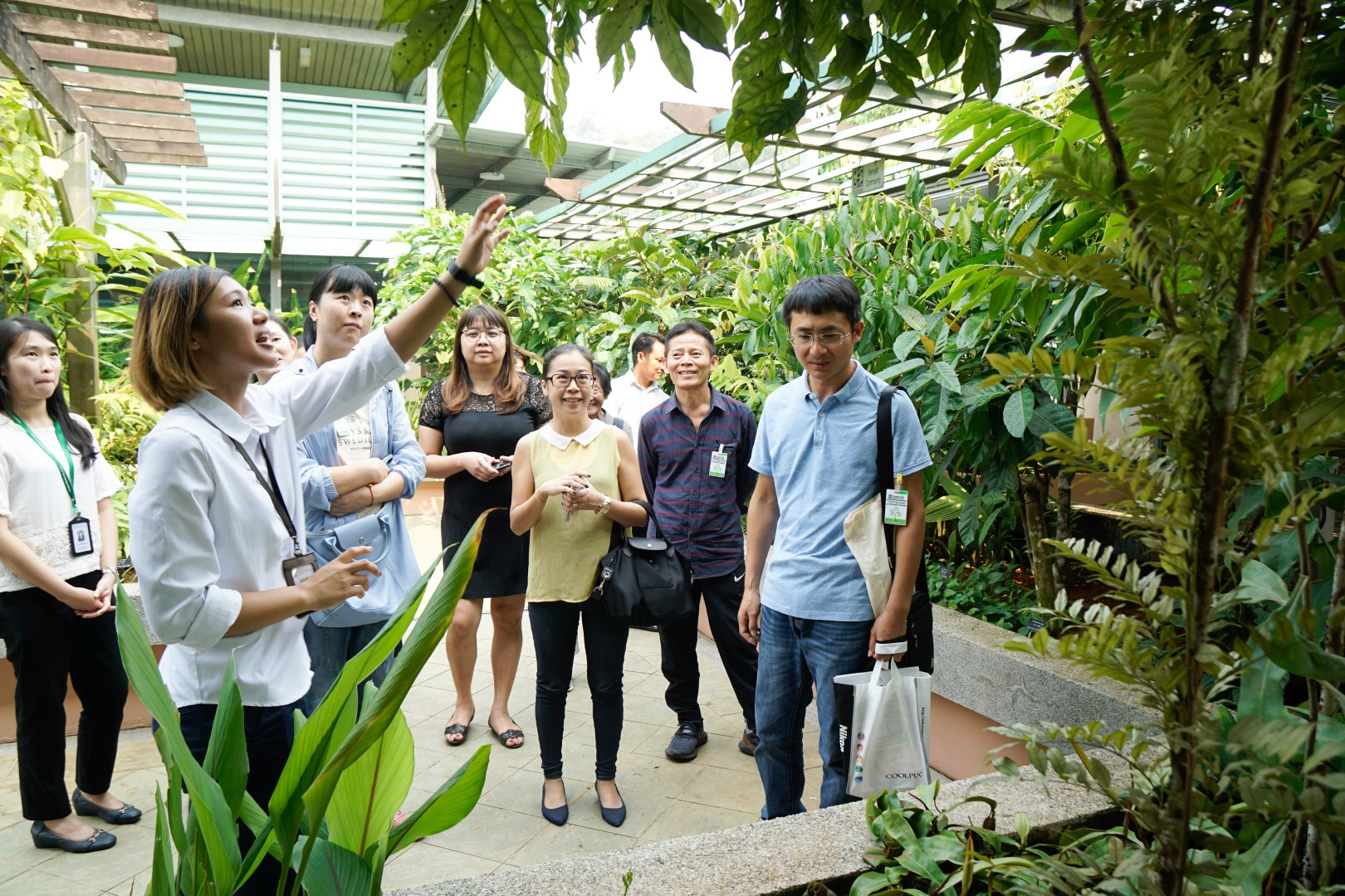 tour at ethnogarden