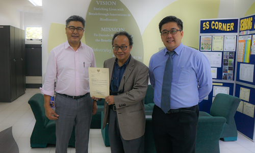 "<font size=""5"">Announcing the New Sarawak Biodiversity Council Chairman</font>"